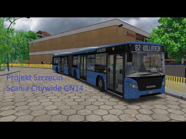 OMSI 2 Projekt Szczecin Scania Citywide GN14 Logitech G25