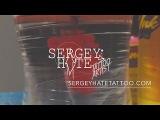 Sergey Hate- // e a g l e // tattoo time lapse