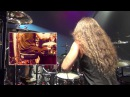 DragonForce's Gee Anzalone The Game Drum Cam