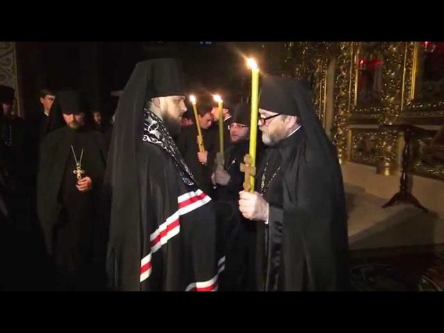 У Михайлівському Золотоверхому монастирі звершено чернечий постриг