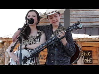 Five String Fest 2014 Willow Osborne and Col. Issac Moore Banjo Trickery