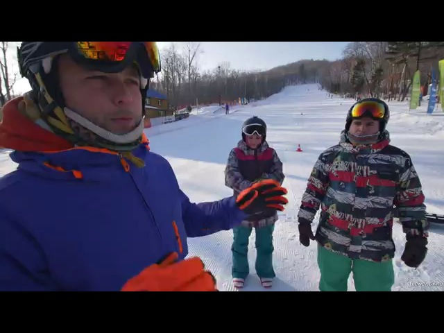 Мягкий сноуборд. Buttering. Вращения.Школа сноубординга.