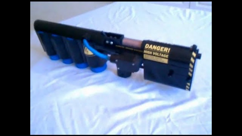 Пушка Гаусса на 1.25 кДж