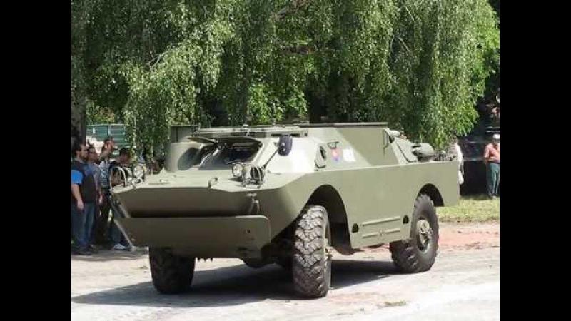 BRDM-2 (9P122) mit sechsfach 9M14 Maljutka LFK-Starter - Auf Rädern und Ketten 2011 - Wien