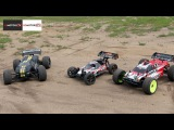 HPI Trophy Truggy & Buggy vs. Associated RC8Te от RCMOTORS.TV