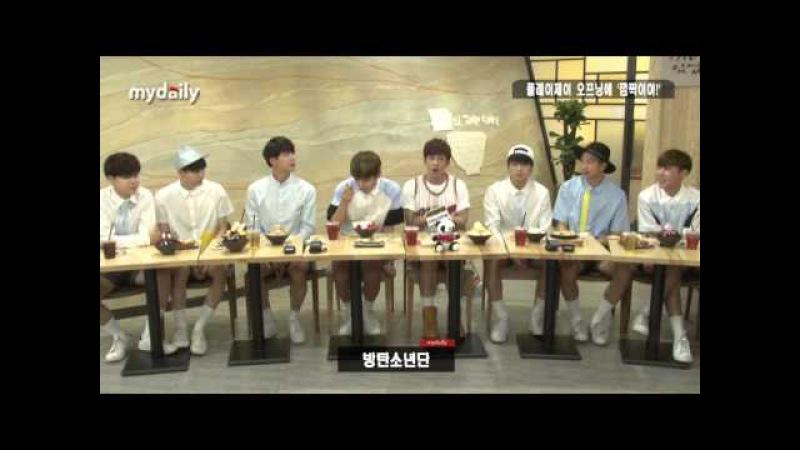 전효성 Jun Hyosung ·러블리즈 Lovelyz ·방탄소년단 BTS 플레이제이 오프닝에 '깜짝' MD동영상