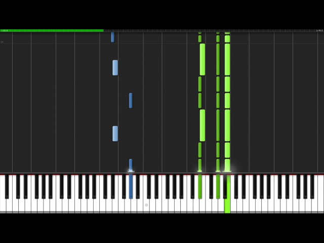 This Is Halloween - The Nightmare Before Christmas [Piano Tutorial] (Synthesia)