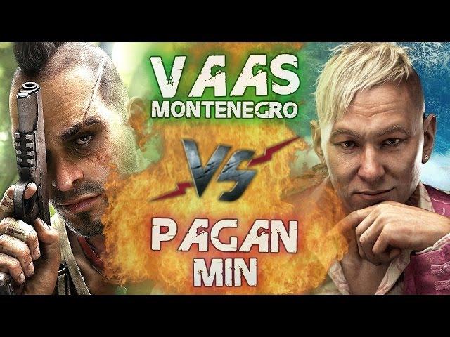Рэп Баттл - Ваас vs. Пэйган Мин