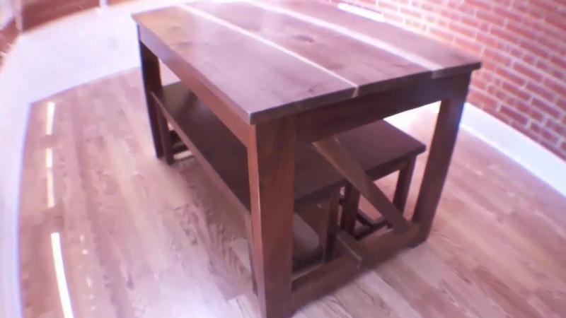 Как сделать столик своими руками ютуб