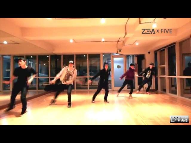 ZEA-FIVE - The Day We Broke Up (dance practice) DVhd