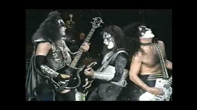Kiss Madison Square Garden 1996 - Cold Gin