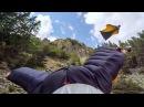 GoPro: Graham Dickinson's Insane Wingsuit Flight - Reverse Helmet Cam 3 of 3