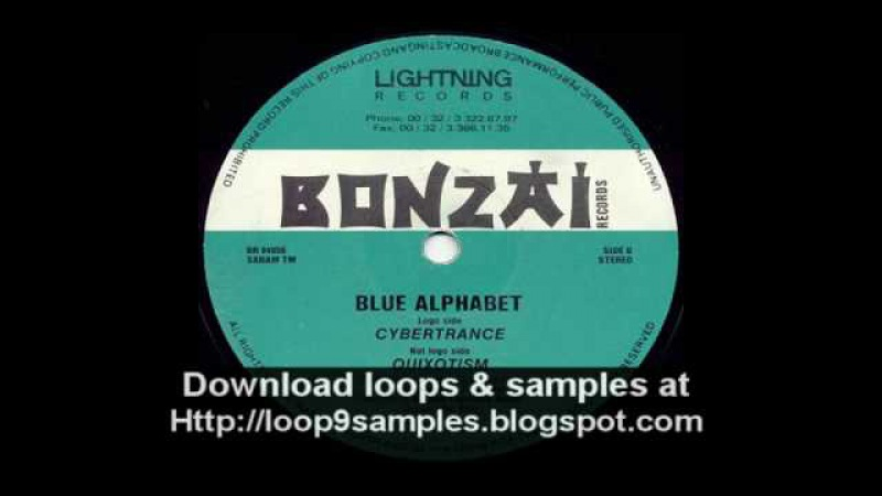 Blue Alphabet - Cybertrance - Bonzai Classic