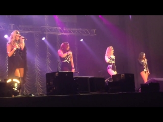 Little mix - love me like you (kiss fm haunted house party 2015) 29_10_15