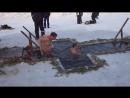 Крещение Ачинск, р.Чулым 19.01.2016 год 15.30-25 градусов