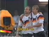 Гол Руди Фёллер. Германия 1:0 ОАЭ (ЧМ-1990) | vk.com/dfb_ru