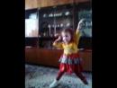 Анечка танцует для прабабушки. 2014 год