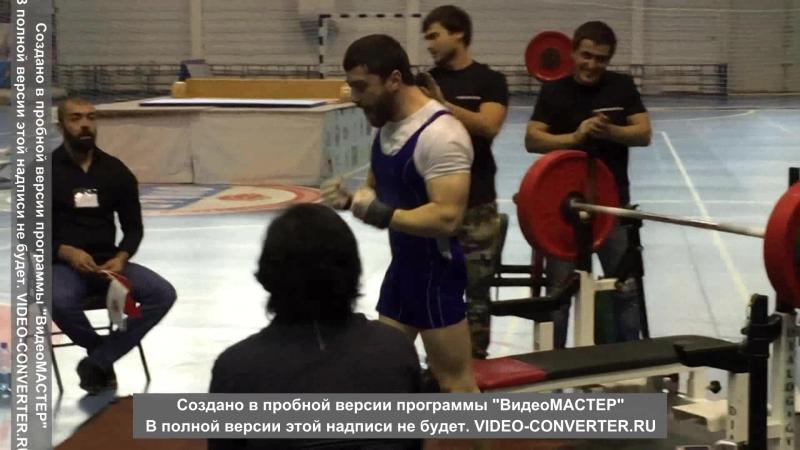 Куготов Султан Вес штанги 150кг свой вес 65 5кг