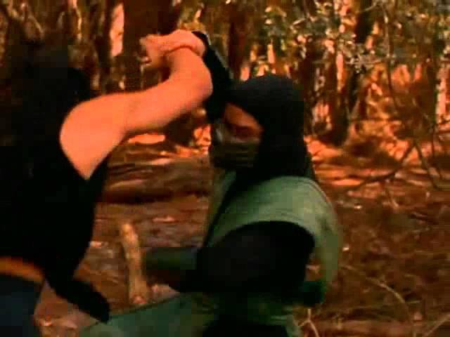 Mortal Kombat Conquest : Shang Tsung vs Reptille -))