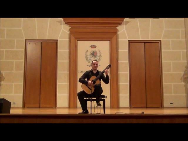 GIULIO TAMPALINI - F. Sor Les Folies dEspagne op. 15a