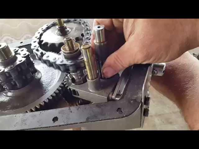 Мотоблок нева МБ2 Редуктор: устройство, разборка- сборка,ремонт