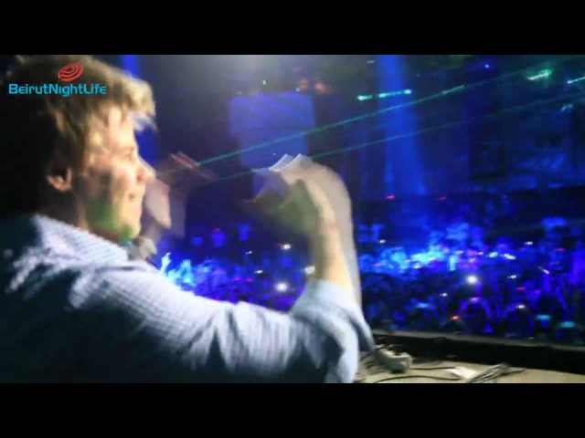 Ferry Corsten - Twice In A Blue Moon : The Experience in Beirut