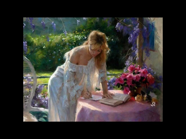 Andre Rieu Toselli Serenade and Vicente Romero paintings