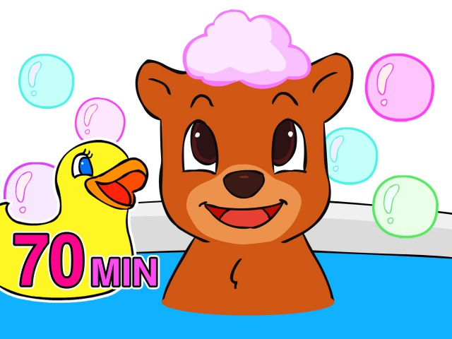 Baby Bath Time Songs | Take a Bath, Wash My Hands, Potty Song More Nursery Rhymes by BusyBeavers