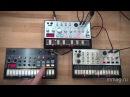 Синтезаторы Korg Volca Bass, Beats и Keys - видео обзор и демо