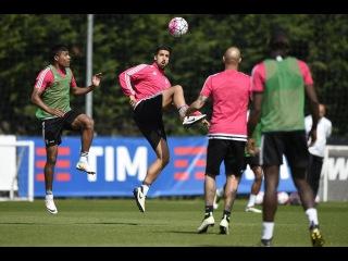 Training session of champions - Il primo allenamento da Campioni d'Italia 2015/16