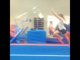 MYAMI on Instagram Mum look what I can do #gymnastics #gym #tumble #flipflop