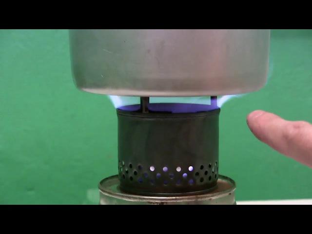 Печка на сухом горючем версия 2
