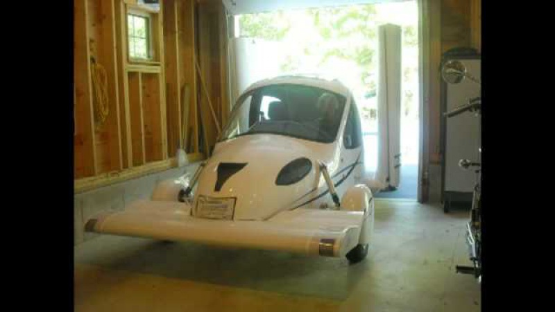 First Flight: Flying Car Terrafugia Transition Roadable Aircraft