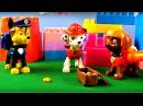 La Pat' Patrouille: mission - la recherche des trésors. Vidéo éducatif pour enfants.