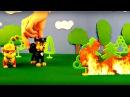 La Pat' Patrouille: mission - arrêter l'incendie! Vidéo éducatif pour enfants