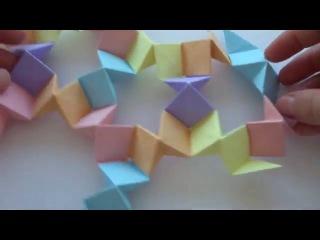 Как сделать волшебный шар из бумаги (Кусудама)