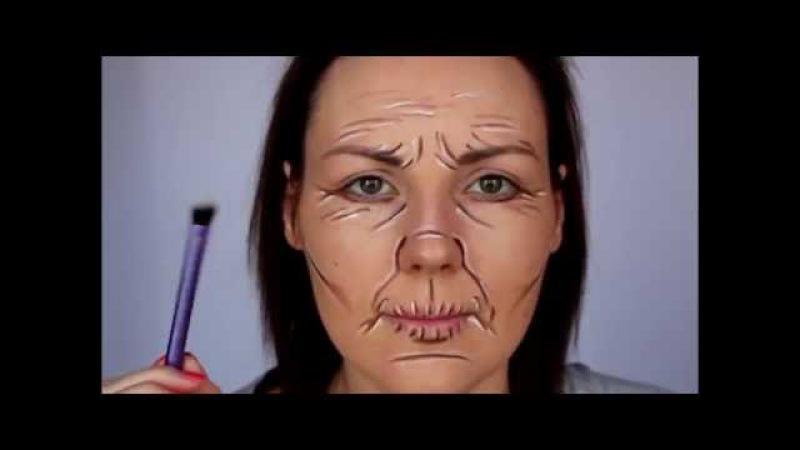 Как рисовать на лице женщин
