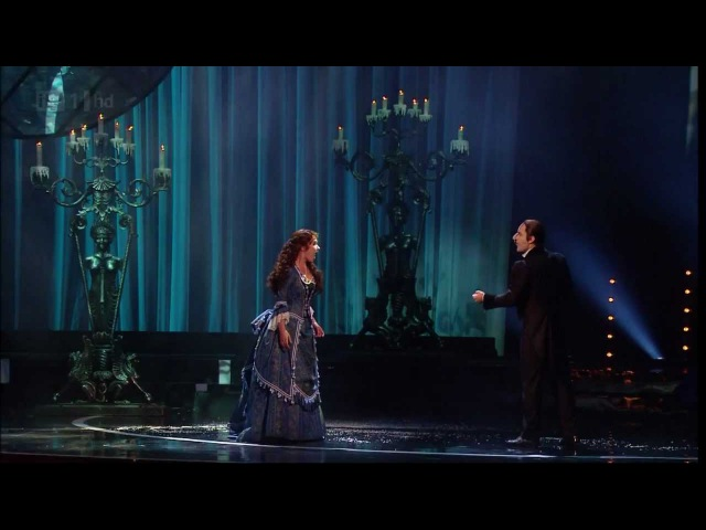 Phantom of the Opera - Sierra Boggess Ramin Karimloo (Classic BRIT Awards 2012)