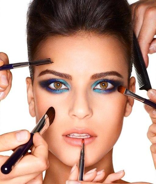 16:00 Вечерний макияж (схема
