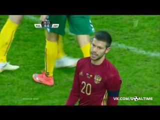 Россия - Литва 3:0. Обзор матча. Товарищеский матч 26.03.2016.