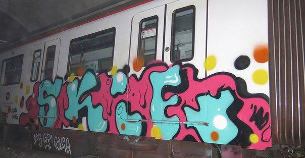 graffiti yesk