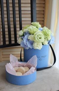 Цветы в коробках с макаронами