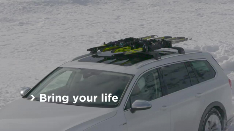 Thule SkiClick 729 - профессиональный багажник для беговых лыж