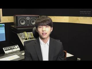[09.05.16] Интервью с Ухёном от Naver к выходу первого сольного мини-альбома «Write..»