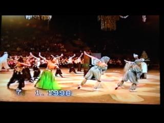 Моё первое иллюзионное шоу.1998 г. Дворец спорта