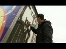 В Набережных Челнах водитель хлебозавода превращает немытые автомобили в арт-объекты
