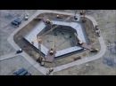 Строительство Лахта Центра. Котлован для фундамента