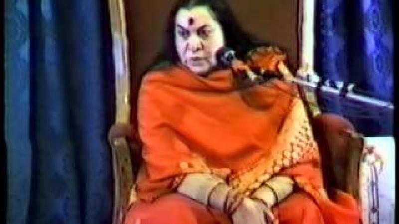 Лекция Шри Матаджи - пуджа Шиваратри 1983 г. /Индия/