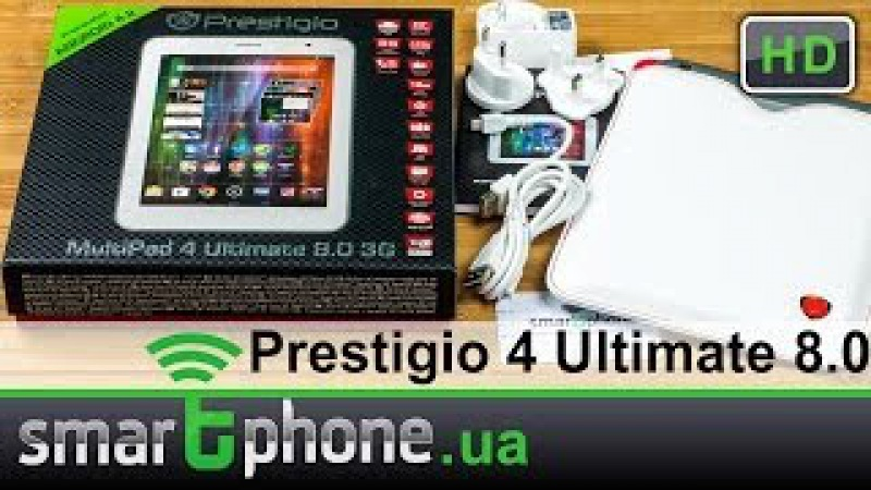 Prestigio MultiPad 4 Ultimate 8.0 3G - Обзор планшета с 3G