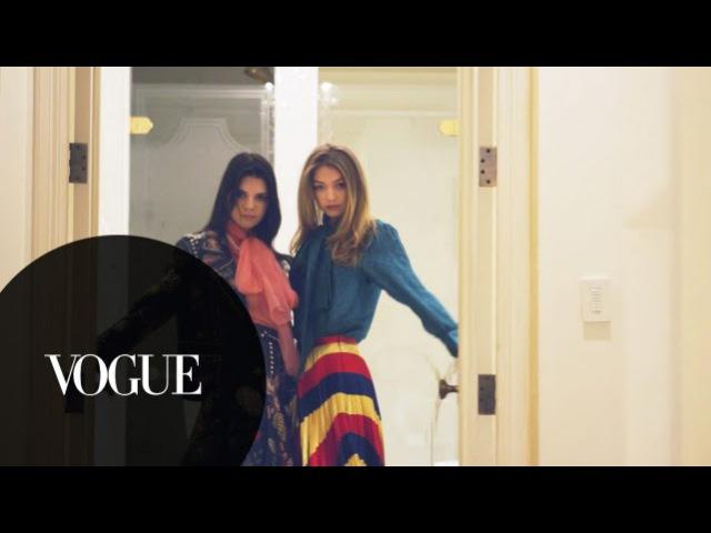 Kendall Jenner, Gigi Hadid Kim Kardashian West Do NYFW and McDonald's | Vogue